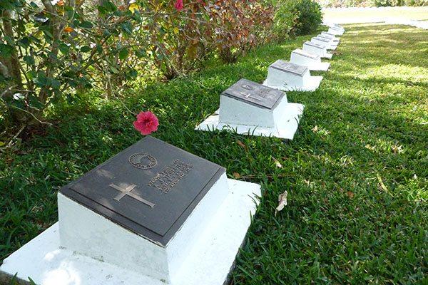 WWII cemetery New Caledonia