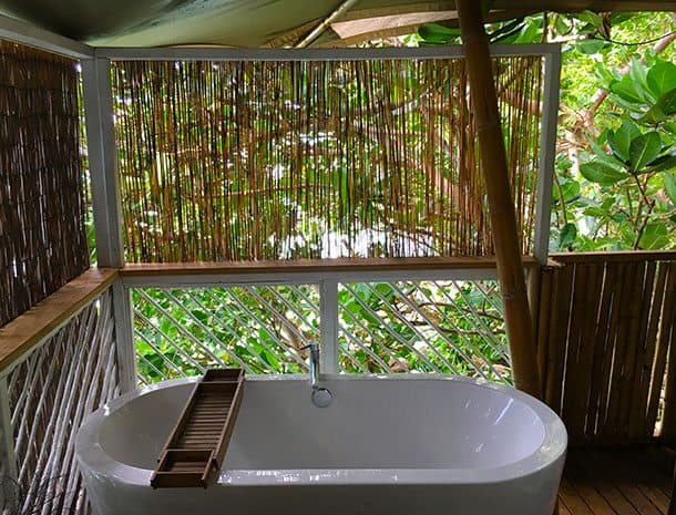 Hidden cove eco retreat
