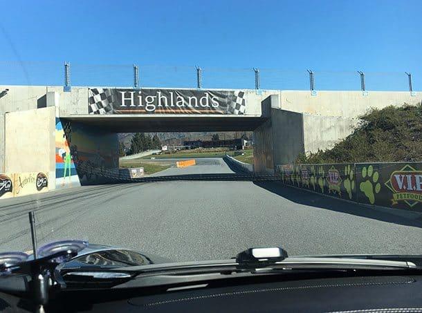 Highlands motorsport race track