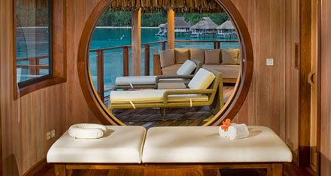 Hilton Presidential suite Bora Bora