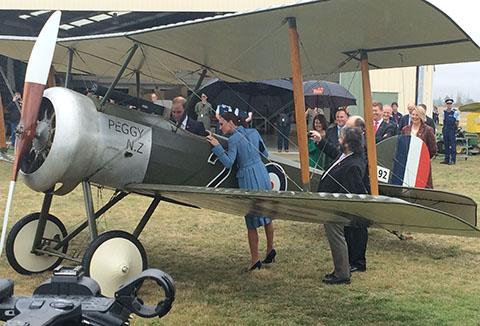 Royal Visit NZ Omaka