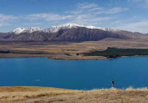 Lake Tekapo and Mt Edward