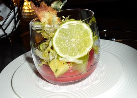 Gordon Ramsay lobster melon