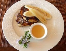 Takatu Lodge breakfast