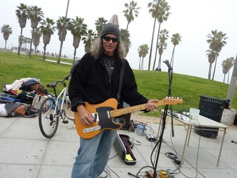 Matt Dowd on Venice Beach