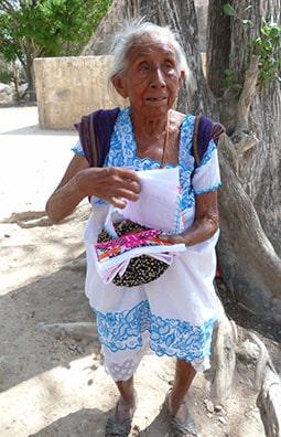 Gorgeous Mayan lady