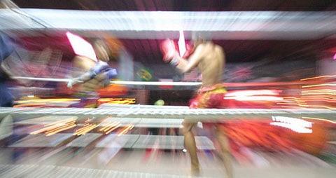 Muay Thai kick boxing Thailand