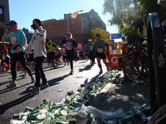 New York Marathon cups