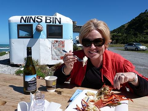 Nin's Bin crayfish