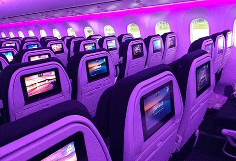 Dreamliner pink