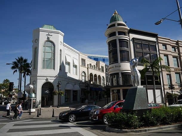 shopping Rodeo Drive Beverly Hills