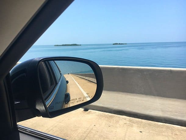 Key west drive from Miami