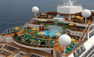 Carnival Sunshine serenity deck