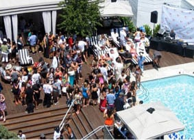 Shangri La pool