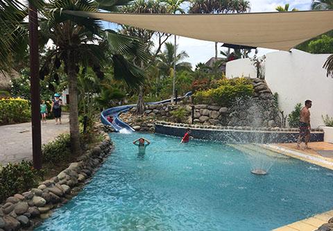 Sofitel Fiji slide