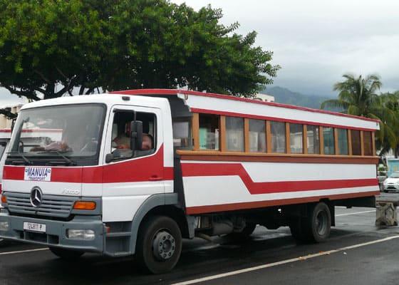 Tahiti Le truck