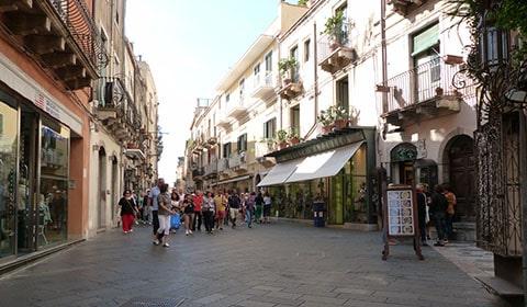 Taormina shops