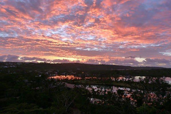 Vanuatu sun rise