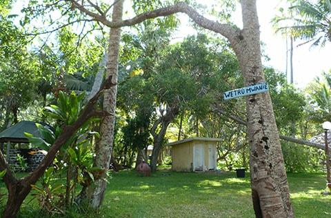 Natural Pool toilet Isle of Pines