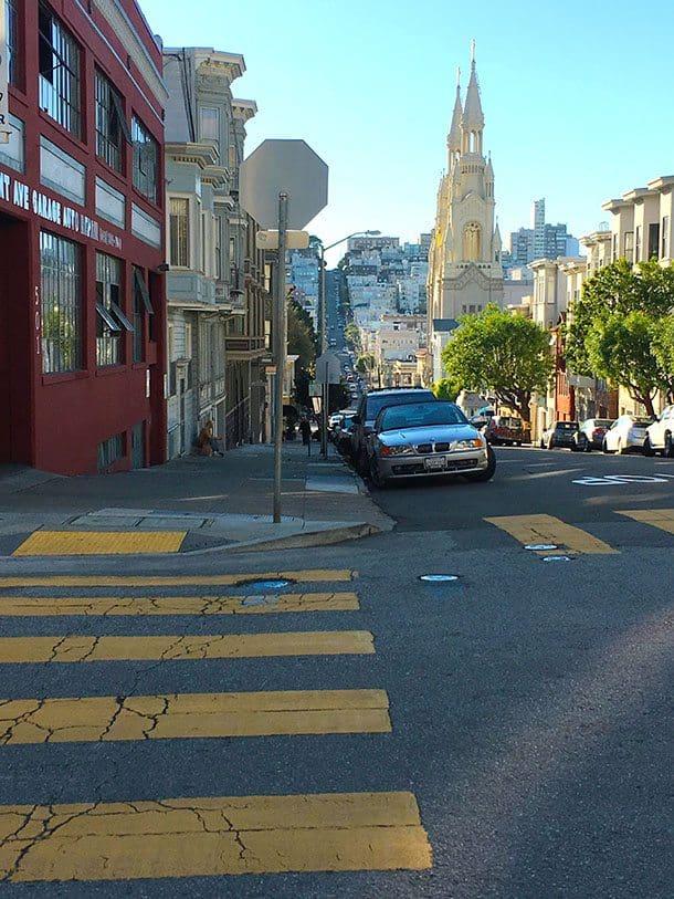 Walking in San Francisco