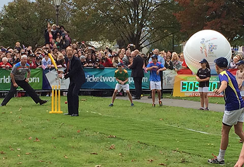 Prince William cricket Christchurch