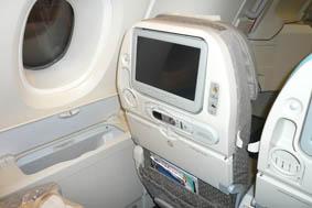 SQ A380 economy seat